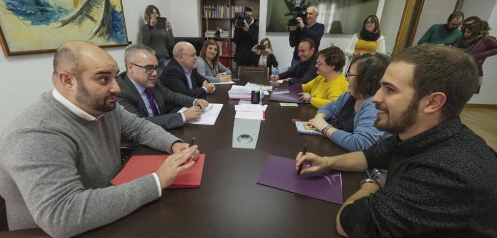 Podemos retira la mayoría de sus enmiendas al Presupuesto para facilitar el acuerdo con el PSOE