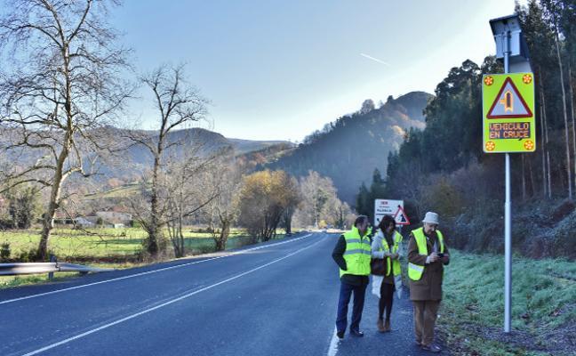 Cantabria activa su primer 'cruce inteligente' en la Nacional 611