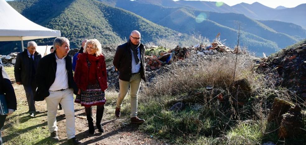 Díaz Tezanos afirma que la clausura del vertedero de Potes «cumple un compromiso con la comarca de Liébana»