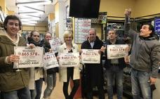 La Primitiva deja un premio de más de 9,5 millones de euros en Muriedas