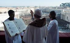 El Papa pide paz en Jerusalén y reza para alcanzar una solución «con dos Estados»