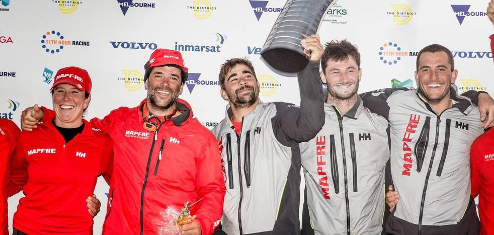 El 'Mapfre' refuerza su liderato en la Volvo con su segunda victoria de etapa
