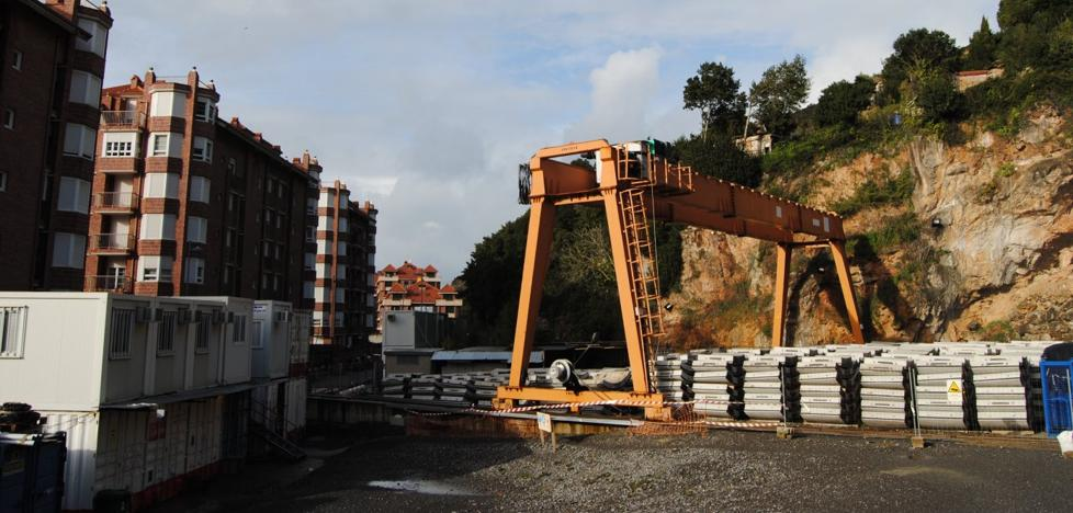 La obra del subfluvial de Santoña acumula un año de parálisis