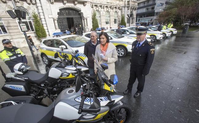 La Policía Local de Santander incorpora ocho nuevos vehículos