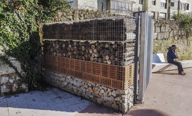 El 'albergue' de insectos de La Remonta, premio por su diseño arquitectónico