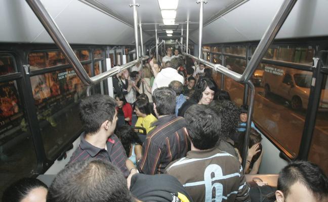 Los autobuses de Santander tendrán servicio nocturno tras las campanadas