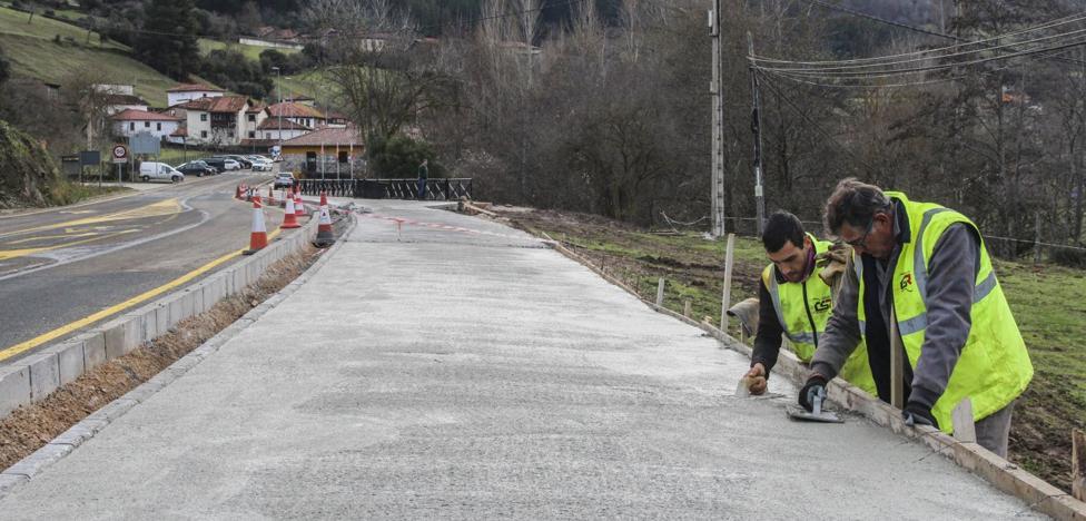 Fomento construye un paseo entre Tama y el Centro de Picos