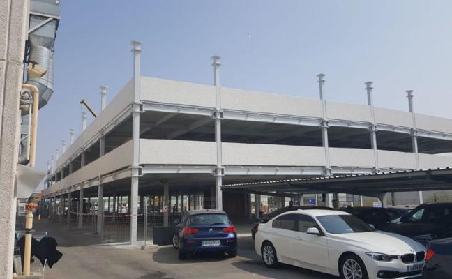 Torrelavega contará este año con el primer aparcamiento en altura
