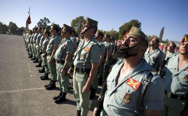 La Legión se afina
