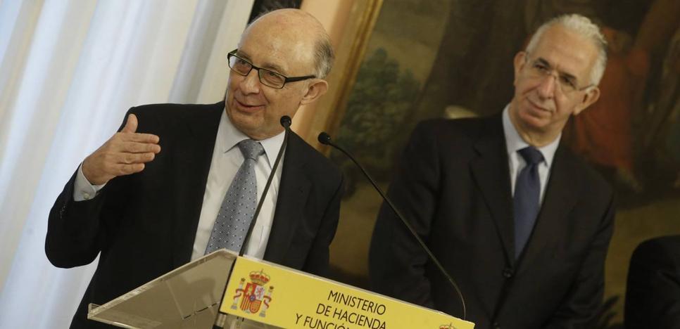 Montoro congela 80 millones destinados a la financiación de Cantabria