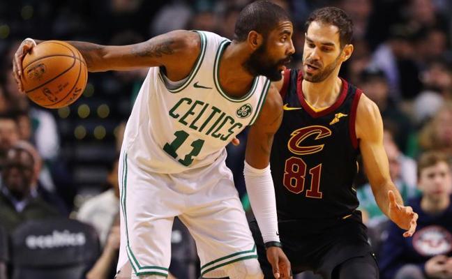 Paliza de los Celtics a los Cavs; Calderón anotó seis puntos
