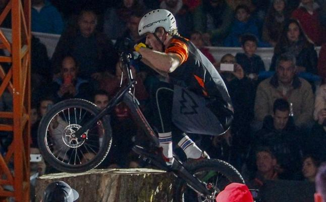 La élite del bike trial se da cita este sábado en el Reinosa X Indoor