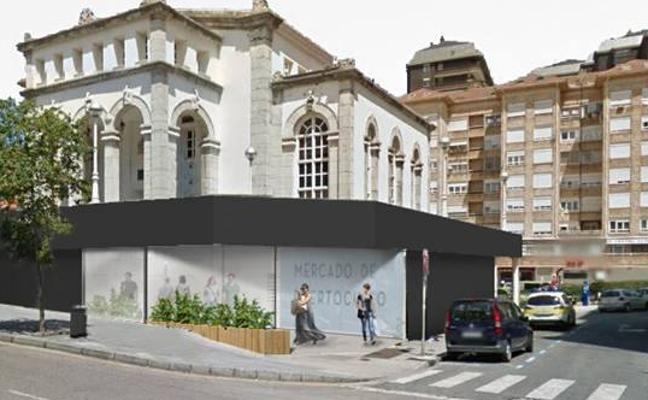El renovado Mercado de Puertochico tendrá fachadas de cristal y terrazas hosteleras