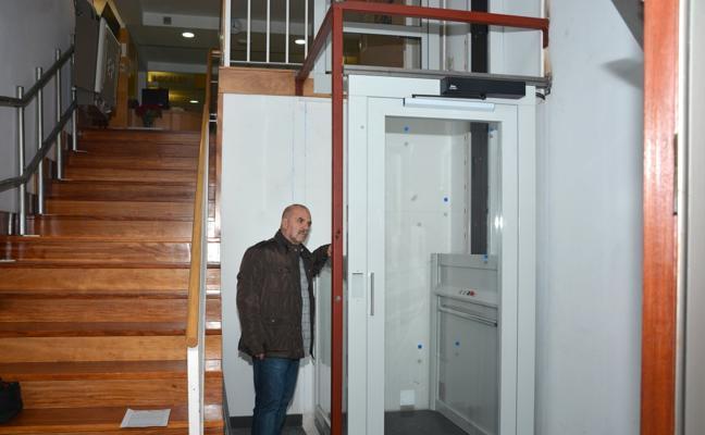 El centro cívico de El Astillero ya es más accesible