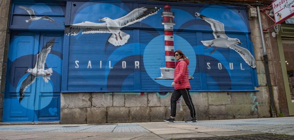 El arte urbano deja huella en Santoña