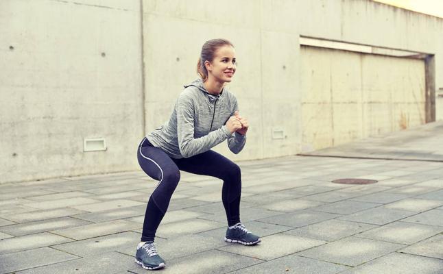 Plan de ejercicios para adelgazar tras Navidad