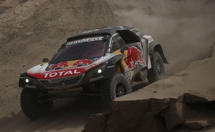 Las mejores imágenes de la cuarta etapa del Dakar