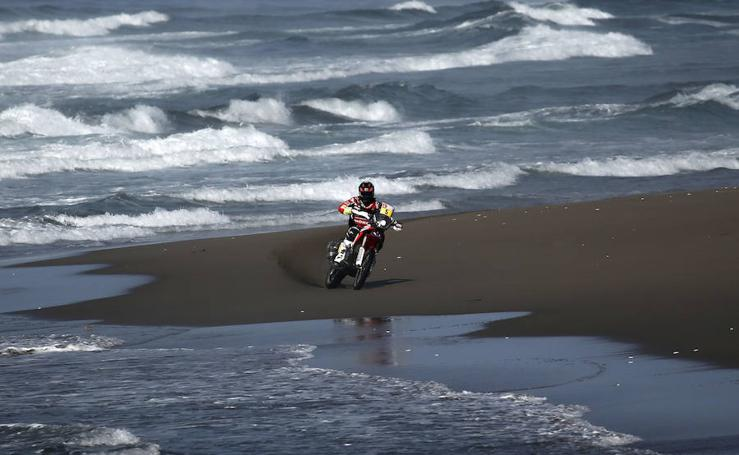 Las mejores imágenes de la quinta etapa del Dakar