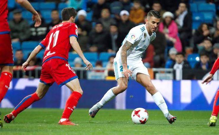 Los mejores momentos del Real Madrid-Numancia, en imágenes