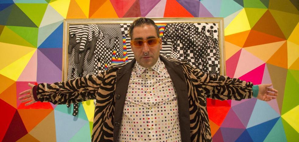 Okuda: «Me encantaría dar color al Museo de Arte Moderno de Santander»