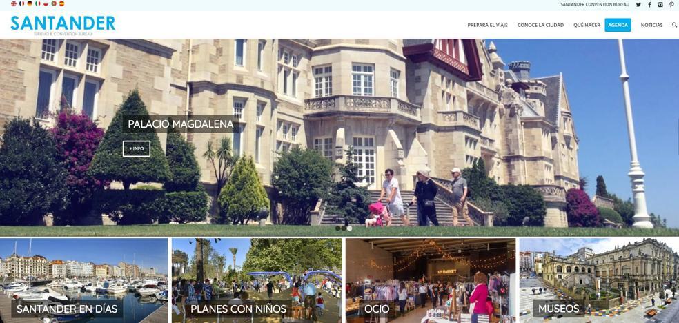 Santander estrena nueva web de turismo