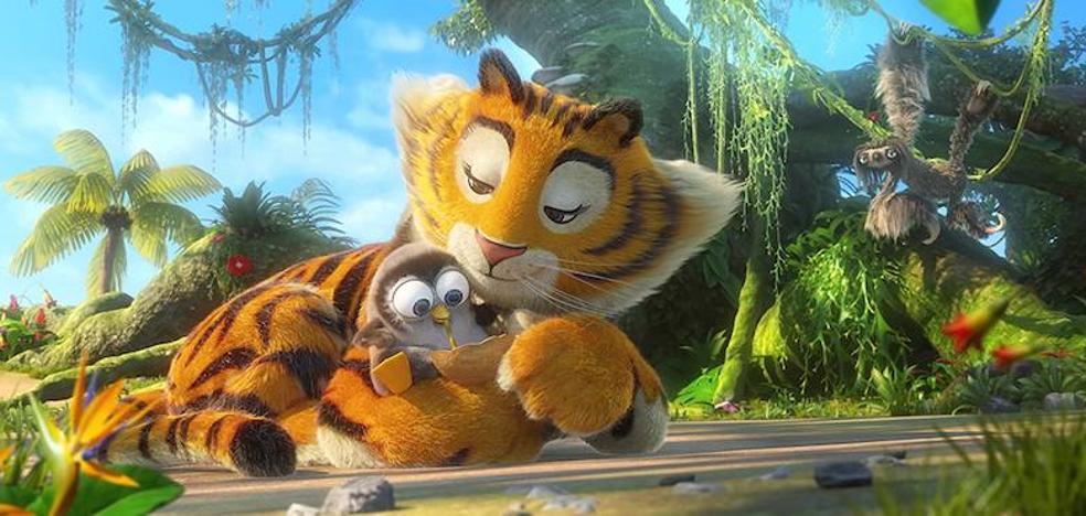 'La panda de la selva', divertida animación a la francesa
