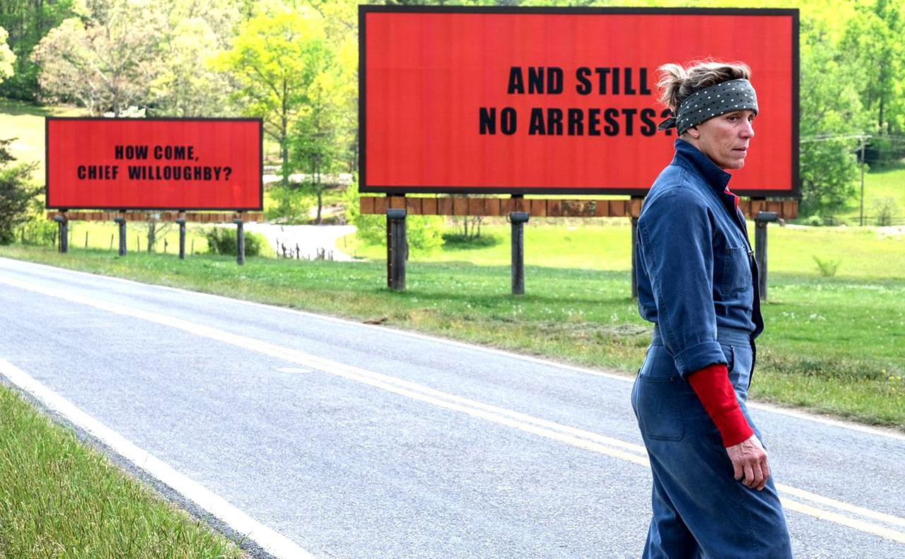 'Tres anuncios en las afueras', McDormand y McDonagh sacuden la América profunda