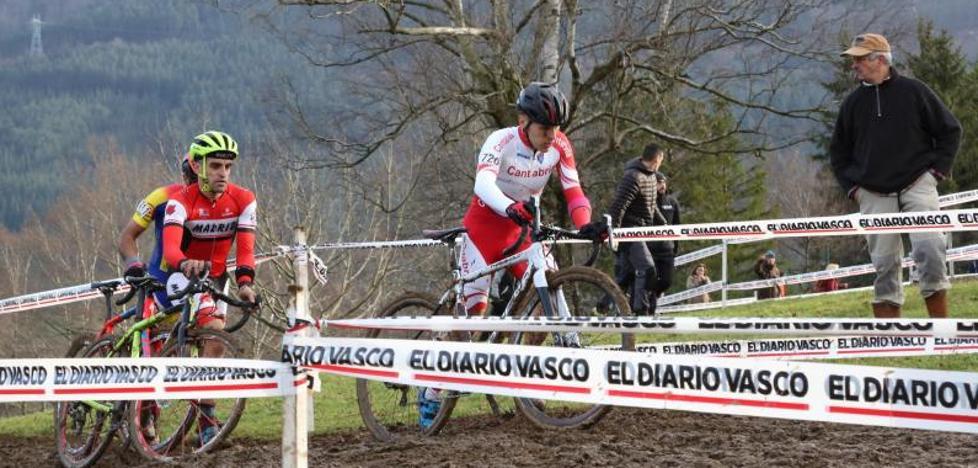 Cantabria, oro en la prueba de relevos del Nacional de Ciclocross