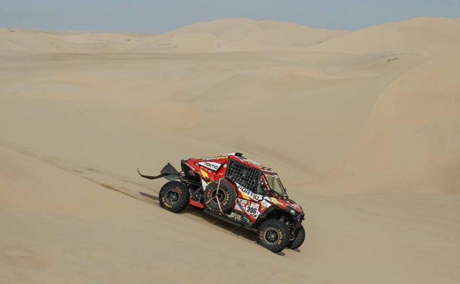 José Luis Peña y Rafael Tornabell, sextos en la primera etapa del Dakar en Bolivia