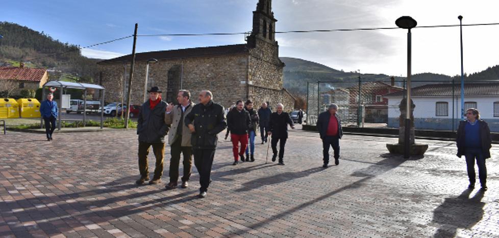 El Gobierno comprueba sobre el terreno una inversión de cerca de 300.000 euros en obra pública en San Felices