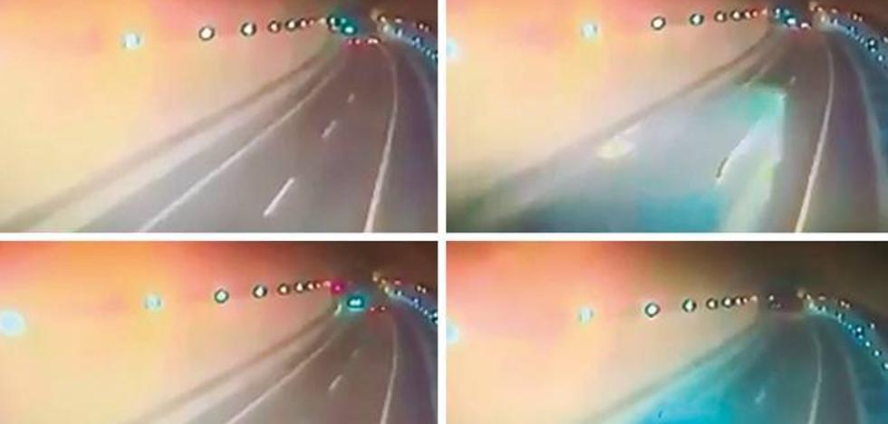 El causante del accidente con tres muertos entró mal a la A-8 desde el área de servicio de Caviedes