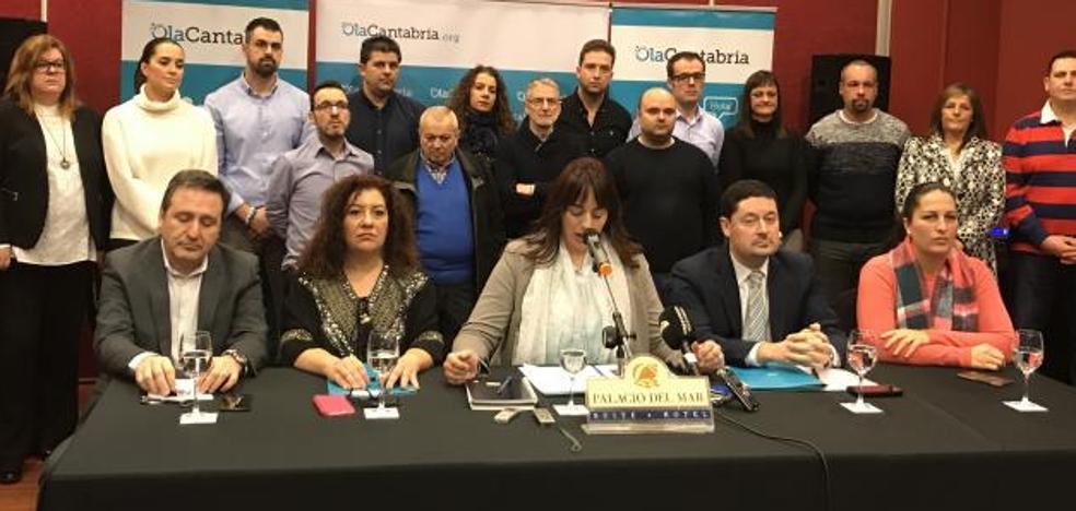 OlaCantabria quiere defender a «maltratados» por PP y PSOE y «olvidados» de Cs y Podemos