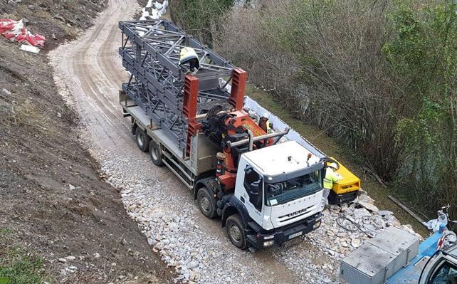 El Gobierno fija un protocolo de emergencias especial durante las obras del Puente de Lebeña