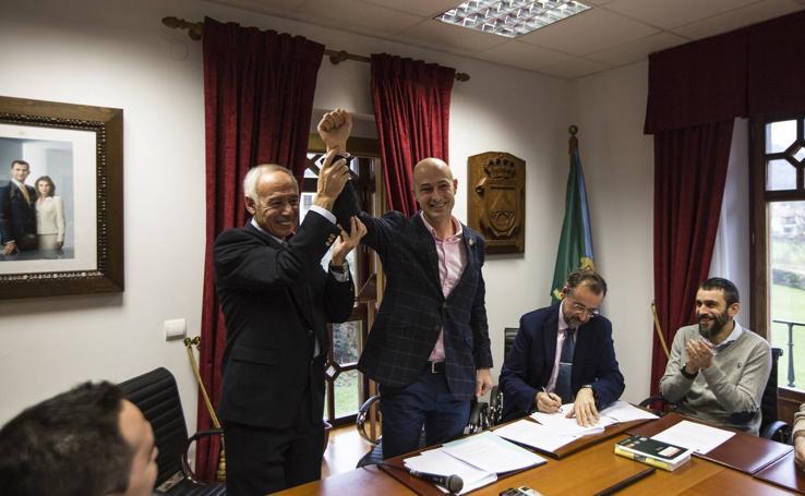 Óscar Villegas, nuevo alcalde de Puente Viesgo