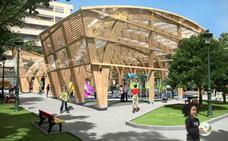 El parque Manuel Barquín contará con una zona infantil cubierta de más de 600 metros cuadrados