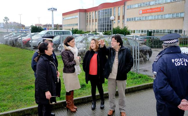 El Ayuntamiento mejorará la seguridad de los accesos del IES Peñascastillo