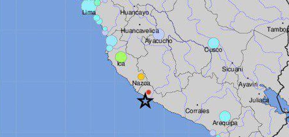 Al menos dos muertos tras un terremoto de magnitud 6,8 en la costa de Perú