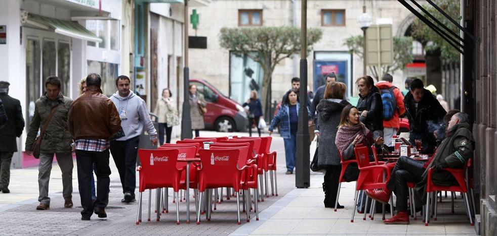 Torrelavega regularizará todas las terrazas «en los primeros meses» de este año