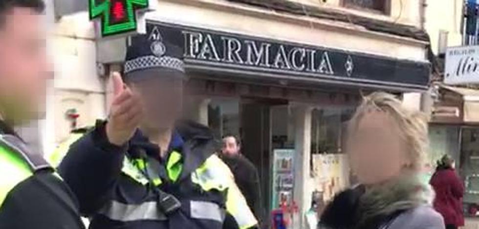 Denunciado por grabar un dispositivo policial en Santander y difundir el vídeo por las redes sociales