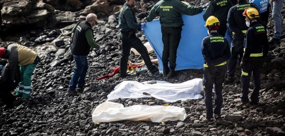 Siete inmigrantes muertos al intentar llegar a Lanzarote en una patera