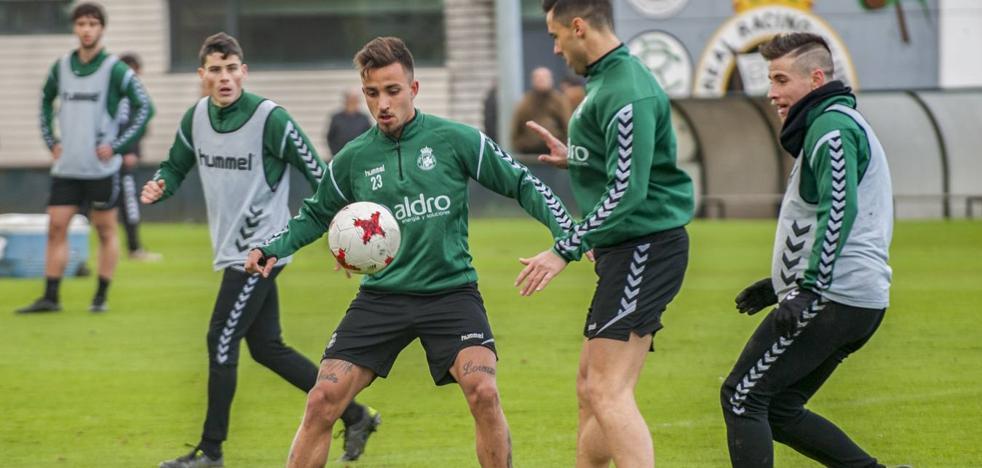 Acosta a la lista y Sergio, al campo