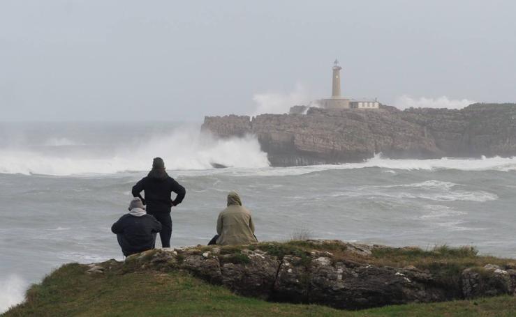Nuevo temporal de costa en Cantabria