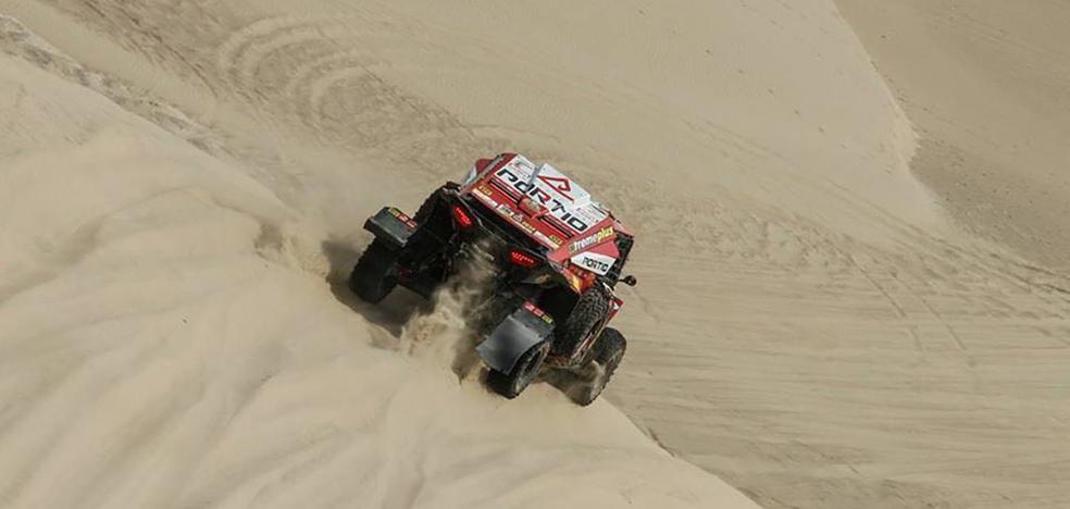 El cántabro José Luis Peña, tercero en la décima etapa del Dakar