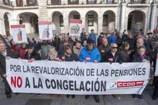 CCOO critica el «raquítico» incremento del 0,25% de las pensiones