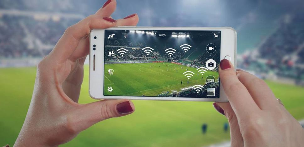 Una aplicación para dispositivos móviles anuncia la retransmisión del Mirandés-Racing