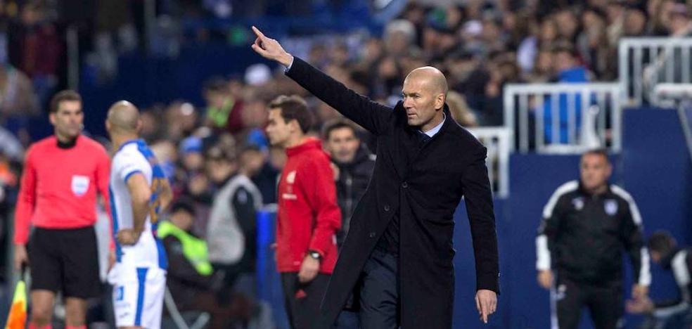 Zidane: «Me gustó la entrega de todo el equipo»
