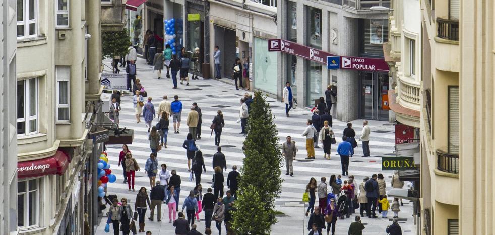 Los comerciantes reclaman al Ayuntamiento más calles peatonales