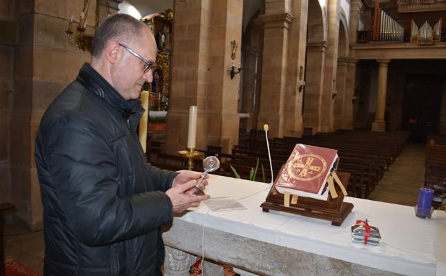 Los Corrales custodia una reliquia auténtica de San Vicente Mártir
