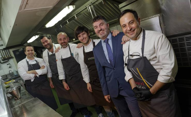 Cantabria luce su cocina en Madrid Fusión