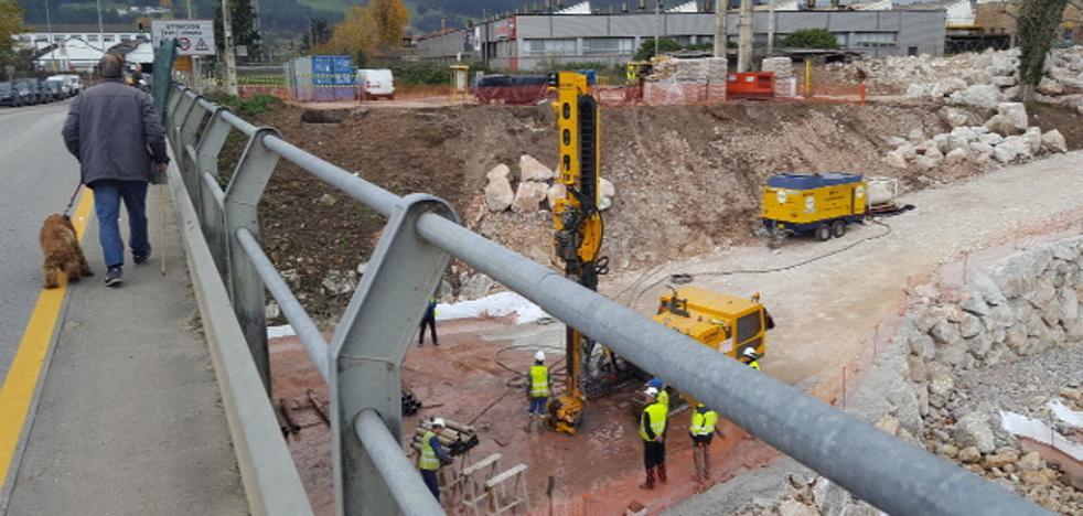 El PP de Los Corrales muestra su «preocupación» por el «paro» de las obras del nuevo puente Ranero